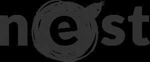 Das Nest Logo Grau
